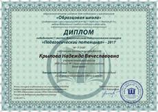 Всероссийский педагогический конкурс «Педагогический потенциал»